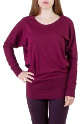 Elly Shirt wine berry