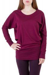 Elly Shirt wine berry