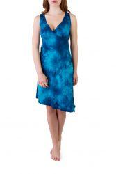 Julie Kleid batik ocean