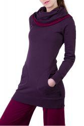 Aalia Pullover violett