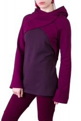 Mayla Pullover wine berry-violett