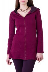 Miyu Jacke wine berry